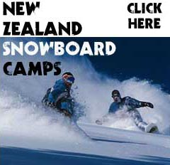 Snowboard Camps Queenstown New Zealand
