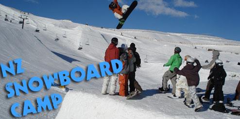 snowboard camp