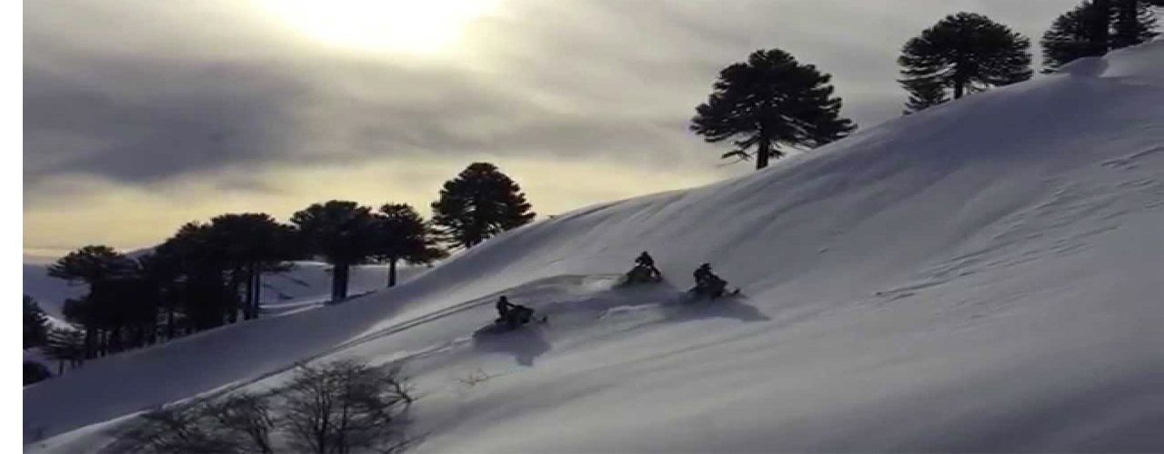 snowmobile tours chile andes